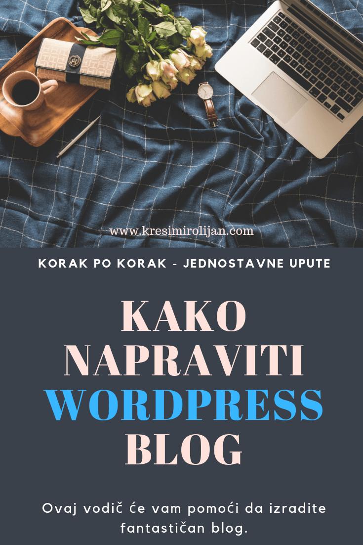 kako napraviti blog